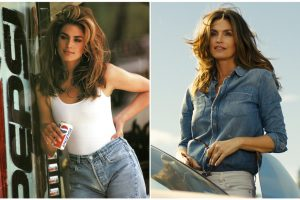 Cindy Crawford recrea comercial del Super Bowl de 1992