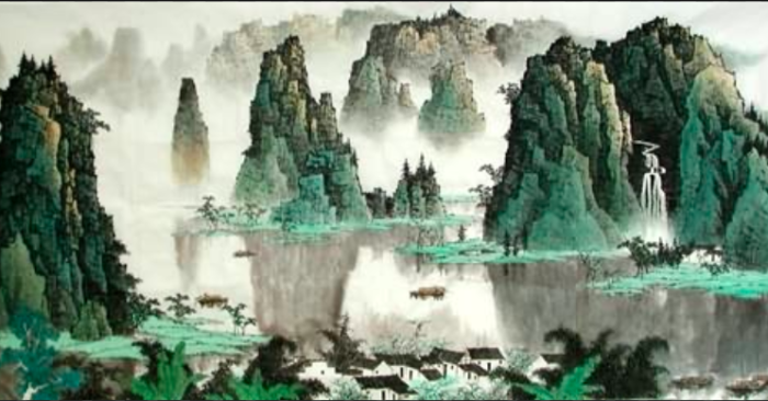 (InkDance Chinese Painting Gallery)