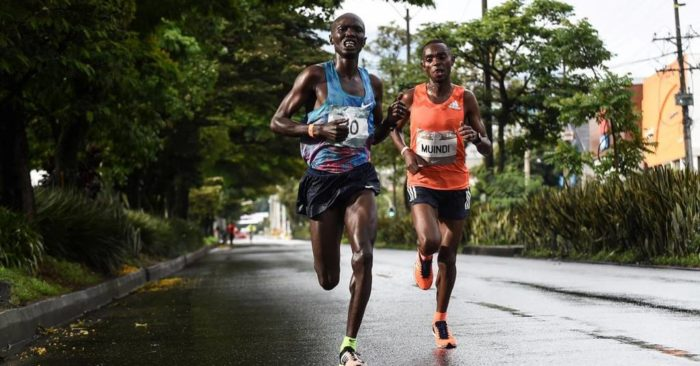 Atleta atropellado en media maratón en Colombia