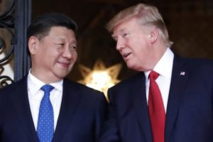Xi Jinping with Donald Trump. (Photo: AP)