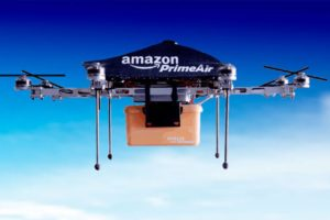 Crece expectativa por drones de Amazon