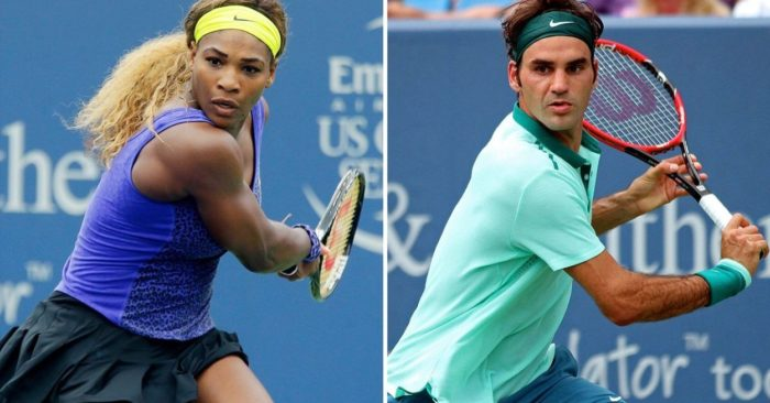 Roger Federer Vs Serena Williams en un duelo histórico