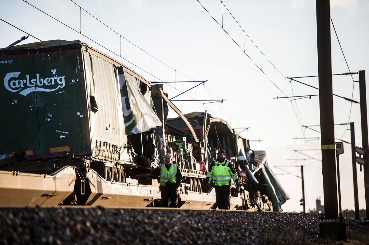 Accidente de Tren en Dinamarca