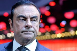 Caen ganancias de Nissan tras el arresto de su expresidente Ghosn