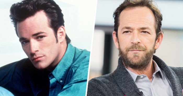 "El actor de ""Beverly Hill 90210"", Luke Perry"