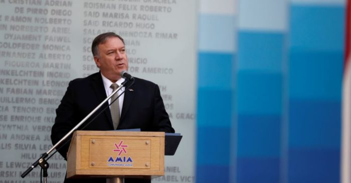 El secretario de Estado, Mike Pompeo