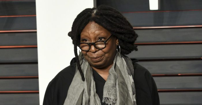 Whoopi Goldberg at the Vanity Fair Oscar Party in Beverly Hills, Calif. (Photo by Evan Agostini/Invision/AP, File)