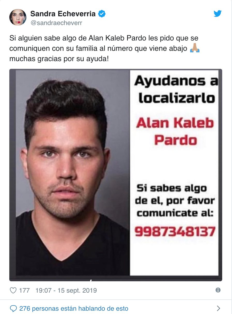 El actor Alan Kaleb Pardo