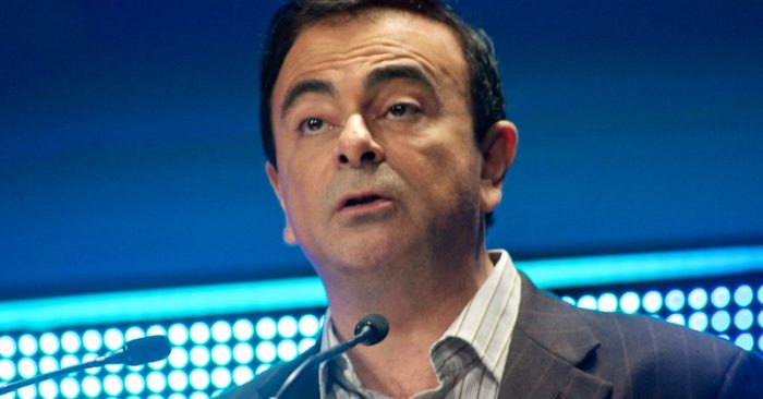 Carlos Ghosn, ex CEO de Renault S.A. & Nissan Motor Co. (Imagen Adam Tinworth en Flickr)