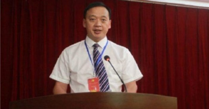 Liu Zhiming, director del Hospital Wuhan Wuchang. (Weibo)